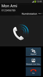 Samsung Galaxy S4 - Contact, Appels, SMS/MMS - Utiliser la visio - Étape 6
