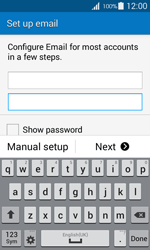 Samsung G357 Galaxy Ace 4 - E-mail - Manual configuration IMAP without SMTP verification - Step 7