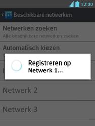 LG E430 Optimus L3 II - Netwerk - Handmatig netwerk selecteren - Stap 13