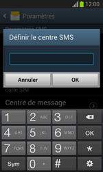 Samsung S7390 Galaxy Trend Lite - SMS - Configuration manuelle - Étape 7