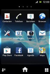 Sony ST23i Xperia Miro - Internet - internetten - Stap 2