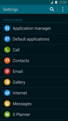 Samsung G800F Galaxy S5 Mini - Voicemail - Manual configuration - Step 4