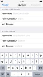 Apple iPhone 7 iOS 11 - E-mails - Ajouter ou modifier un compte e-mail - Étape 12