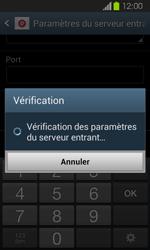 Samsung Galaxy Express - E-mails - Ajouter ou modifier un compte e-mail - Étape 11