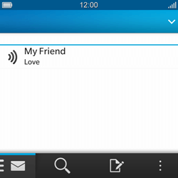BlackBerry Q10 - Email - Sending an email message - Step 16