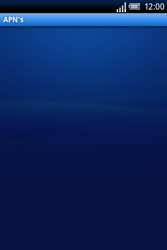 Sony Ericsson Xperia X8 - Internet - Handmatig instellen - Stap 7