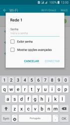 Samsung Galaxy J5 - Wi-Fi - Como configurar uma rede wi fi - Etapa 7