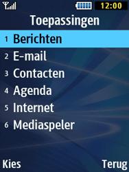 Samsung B2710 Xcover 271 - Voicemail - Handmatig instellen - Stap 5