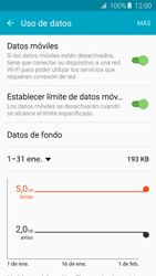 Samsung Galaxy A5 (2016) - Internet - Ver uso de datos - Paso 10