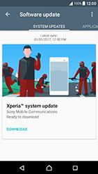 Sony Xperia XA1 - Network - Installing software updates - Step 7