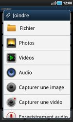 Samsung I9000 Galaxy S - E-mail - envoyer un e-mail - Étape 8