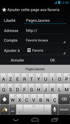 Acer Liquid E1 - Internet - Navigation sur internet - Étape 15