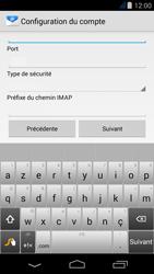 Acer Liquid Jade - E-mail - Configuration manuelle - Étape 9