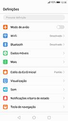 Huawei P10 Lite - Internet no telemóvel - Como ativar os dados móveis -  3