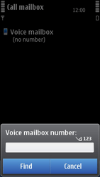 Nokia N8-00 - Voicemail - Manual configuration - Step 6