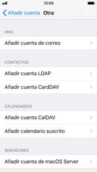 Apple iPhone 5s - iOS 11 - E-mail - Configurar correo electrónico - Paso 6