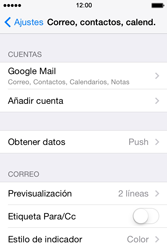 Apple iPhone 4S iOS 7 - E-mail - Configurar Gmail - Paso 10