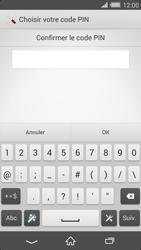 Sony Xperia Z2 - Sécuriser votre mobile - Activer le code de verrouillage - Étape 10