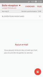 Samsung G925F Galaxy S6 Edge - E-mail - Configurer l