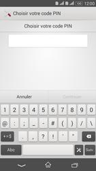 Sony Xperia E4g - Sécuriser votre mobile - Activer le code de verrouillage - Étape 7