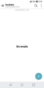 LG Q6 - E-mail - Configurar Yahoo! - Paso 5