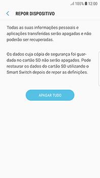 Samsung Galaxy S7 Edge - Android Oreo - Repor definições - Como repor definições de fábrica do telemóvel -  9