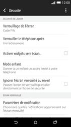 HTC One (M8) - Sécuriser votre mobile - Activer le code de verrouillage - Étape 12