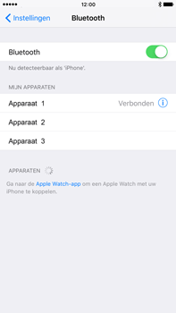 Apple iPhone 6 Plus iOS 9 - Bluetooth - koppelen met ander apparaat - Stap 8