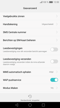 Huawei P9 Plus - SMS - handmatig instellen - Stap 9