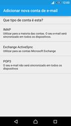 Sony Xperia Z3 Plus - Email - Configurar a conta de Email -  9