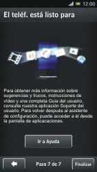 Sony Xperia J - Primeros pasos - Activar el equipo - Paso 10