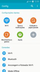Samsung Galaxy A5 - Wi-Fi - Como configurar uma rede wi fi - Etapa 4