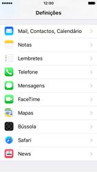 Apple iPhone SE - Segurança - Como ativar o código PIN do cartão de telemóvel -  3
