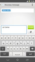Sony Xpéria Z1 - Contact, Appels, SMS/MMS - Envoyer un SMS - Étape 8