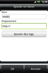 HTC A510e Wildfire S - Internet - Navigation sur Internet - Étape 9