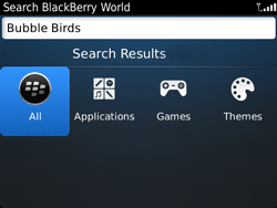 BlackBerry 9720 Bold - Applications - Downloading applications - Step 6