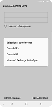 Samsung Galaxy S9 Plus - Email - Configurar a conta de Email -  8