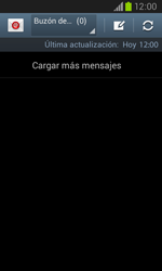 Samsung i8260 Galaxy Core - E-mail - Escribir y enviar un correo electrónico - Paso 4