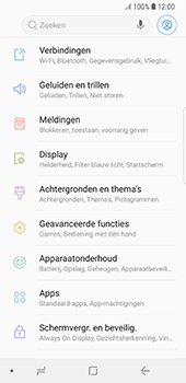 Samsung Galaxy S8 - Android Oreo - Internet - buitenland - Stap 4
