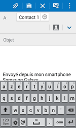 Samsung J100H Galaxy J1 - E-mail - envoyer un e-mail - Étape 7