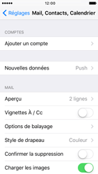 Apple iPhone 5 iOS 9 - E-mail - Configuration manuelle - Étape 4