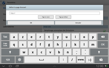 Samsung P7500 Galaxy Tab 10-1 - Internet - Configuration manuelle - Étape 14