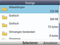 Nokia Asha 201 - E-mail - E-mails verzenden - Stap 15