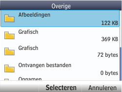 Nokia Asha 201 - E-mail - e-mail versturen - Stap 14