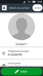 Doro 8031 - Contact, Appels, SMS/MMS - Ajouter un contact - Étape 19