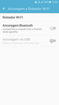Samsung Galaxy On 7 - Wi-Fi - Como usar seu aparelho como um roteador de rede wi-fi - Etapa 5