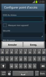 Samsung Galaxy S2 - Internet et connexion - Partager votre connexion en Wi-Fi - Étape 8