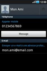 Samsung Galaxy Ace - Contact, Appels, SMS/MMS - Ajouter un contact - Étape 10
