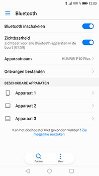 Huawei P10 Plus - Bluetooth - headset, carkit verbinding - Stap 5