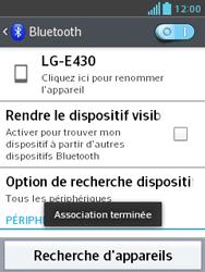 LG E430 Optimus L3 II - Bluetooth - Jumeler avec un appareil - Étape 9